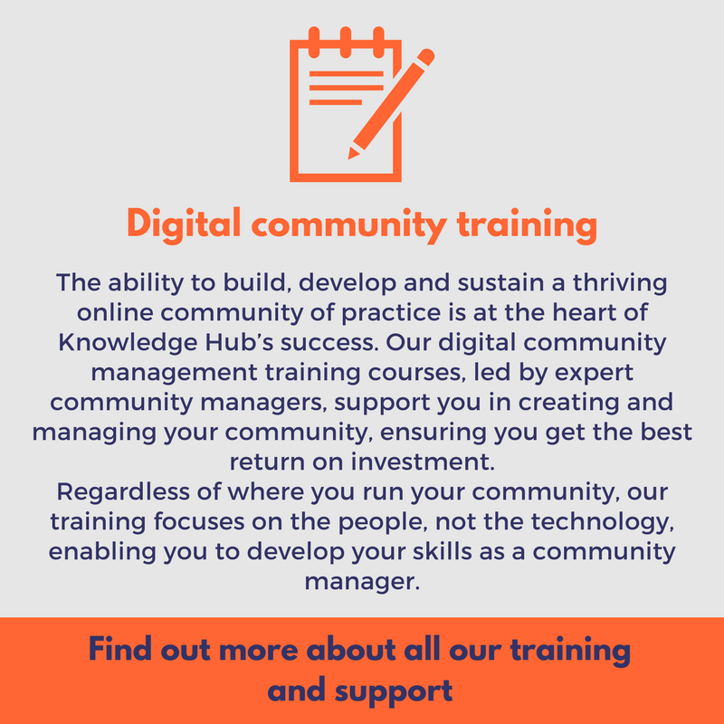 digital community training learn how to develop a thriving community