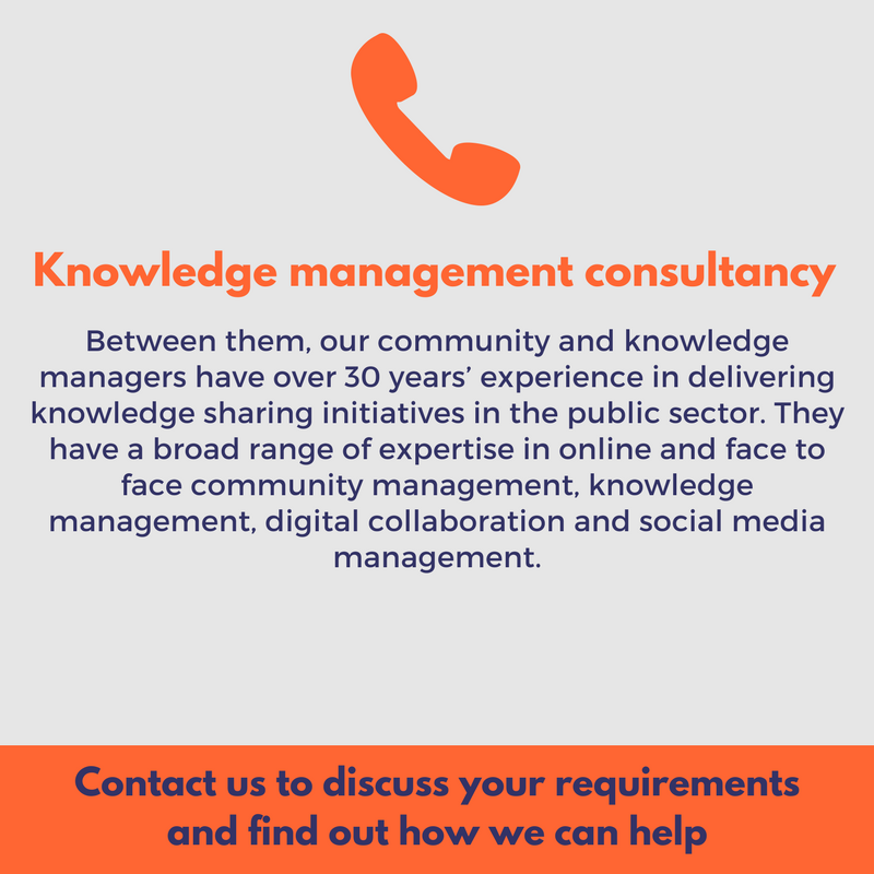 knowledge management consultancy to meet your needs