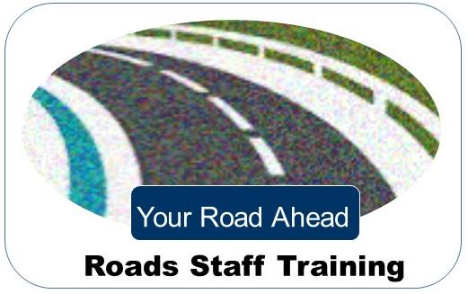 Your Road Ahead: Roads Staff Training Logo